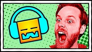 YuB Loses His Mind Playing Geometry Dash [Stream Highlight]