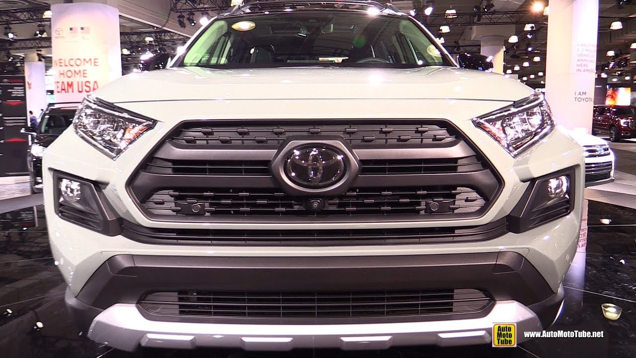 2019 Toyota Rav4 Adventure Exterior And Interior Walkaround 2018 New York Auto Show Youtube