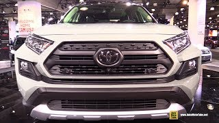2019 Toyota Rav4 Adventure - Exterior and Interior Walkaround - 2018 New York Auto Show
