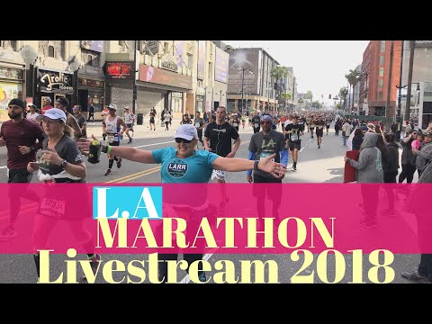 Sea Of Sweaty RUNNERS Los Angeles Marathon 2018 | L.A Marathon