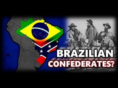 The last Remnants of the Confederacy in South America? (Confederados of Brazil)