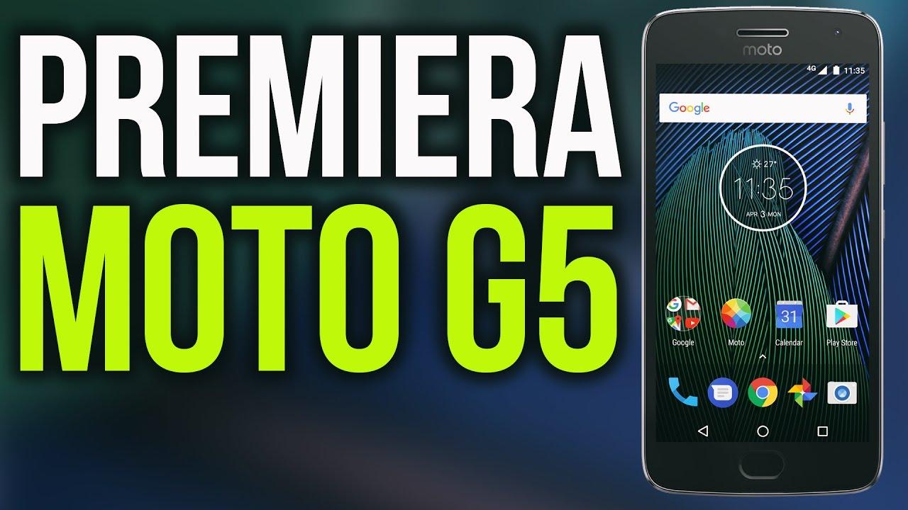 Motorola Wraca na Rynek! Premiera Moto G5 i G5 Plus