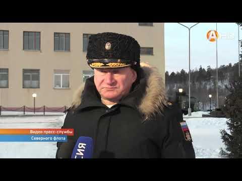 Командующий Северным флотом вручил Боевое знамя сформированному морскому инженерному полку