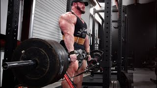 EP4 - Hunter Labrada IFBB Tampa Pro Debut - Back/Bicep Training Plus Nutrition
