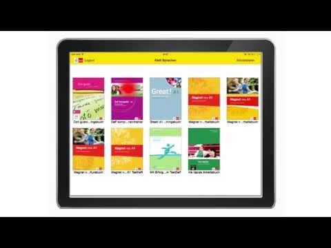 Klett Sprachen: Interactive tablet versions