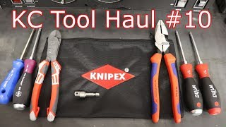 KC Tool Haul #10: Knipex Lineman Pliers, NWS Fantastico Plus Side Cuters, and Wiha, Wera, and Felo!