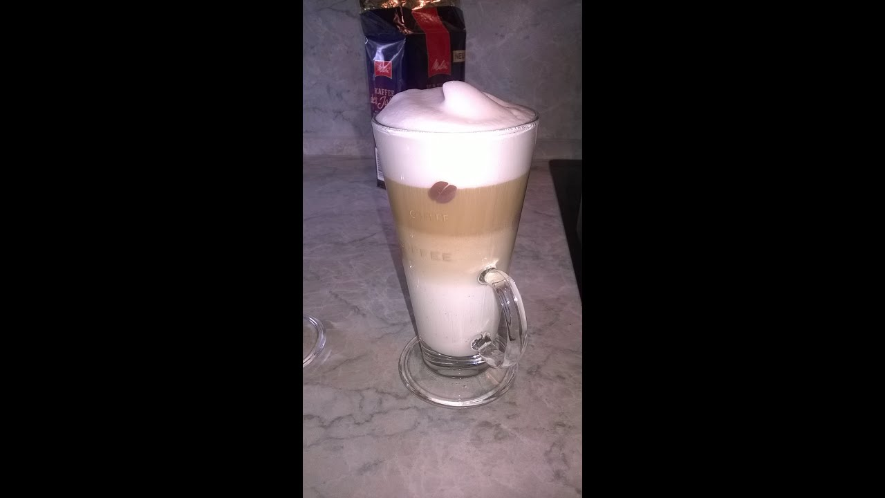 toller latte macchatto selbst gemacht - youtube