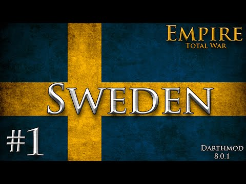 Empire Total War: Darthmod - Sweden Campaign #1 ~ Trade Me Your Regions!