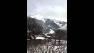 Снежная Теберда 20.04.2015г.