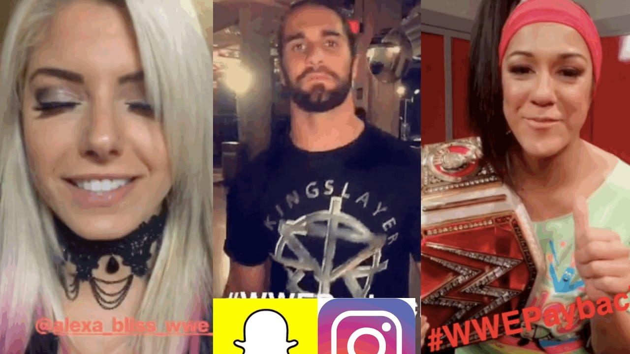 Snapchat Alexa Bliss nude photos 2019