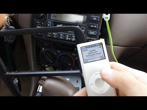 как сделать AUX на любой автомагнитоле легко Тойота Камри/How To AUX On Any Car Radio  Toyota Camry