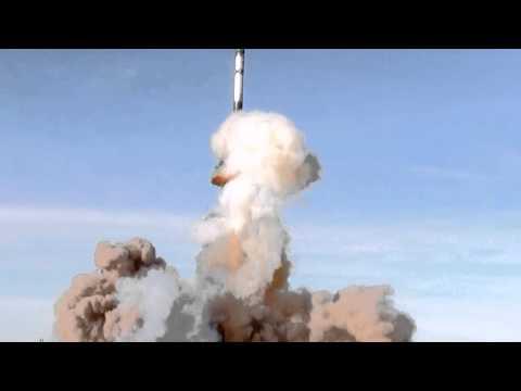 WNISAT-1 Launch on Dnepr (slow motion)