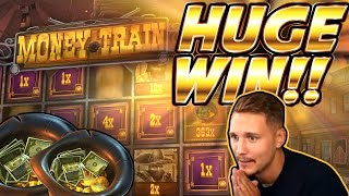 HUGE WIN!! Money Train BIG WIN!! Online Slot from CasinoDaddy Live Stream