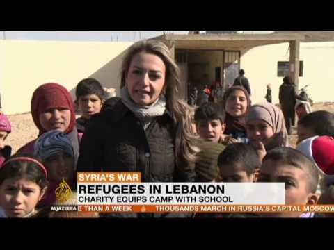 Syrian refugees desperate for an education