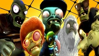 plants vs zombies garden warfare all super final bosses gameplay