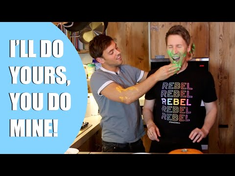 I'll do yours, you do mine! | HALLOWEEN SPECIAL | Tom and Lance