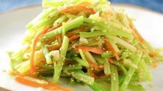 【楊桃美食網】涼拌芝麻芹菜