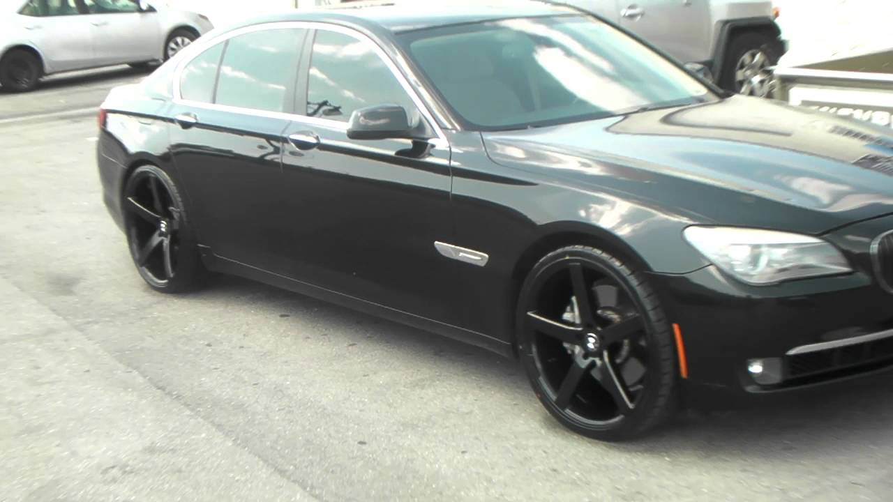 Inch Ruff Racing R All Black Wheels BMW Series - All black bmw