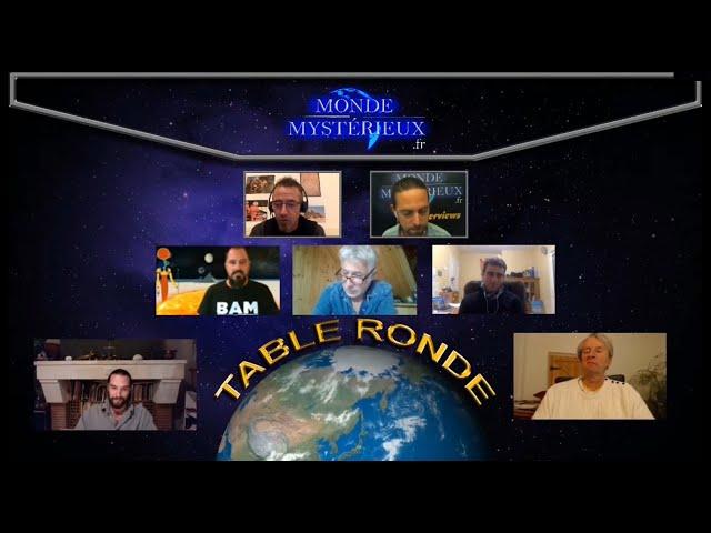 Table ronde sur les Géométries Sacrées.
