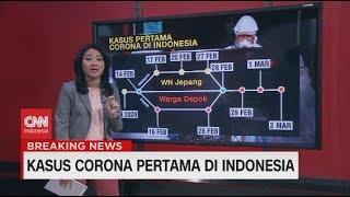 Kasus Virus Corona Pertama di Indonesia