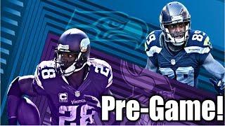 Seahawks VS Vikings Pre-Game!! Go Hawks!!
