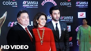 Ranbir Kapoor At Sansui Colors Stardust Awards 2016