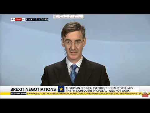 Jacob Rees-Mogg discusses Chequers and Salzburg