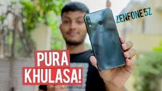 Asus Zenfone 5Z ! Full Review with Pros and Cons!