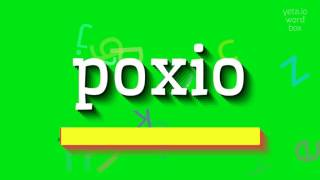 Download lagu How to saypoxio MP3