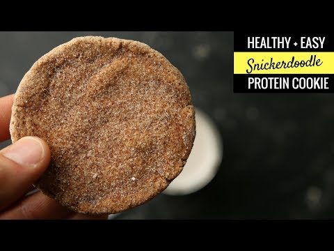 BODYBUILDING Snickerdoodle Cookie Recipe From Scratch | SOFT and CHEWY, GLUTEN FREE, HIGH PROTEIN