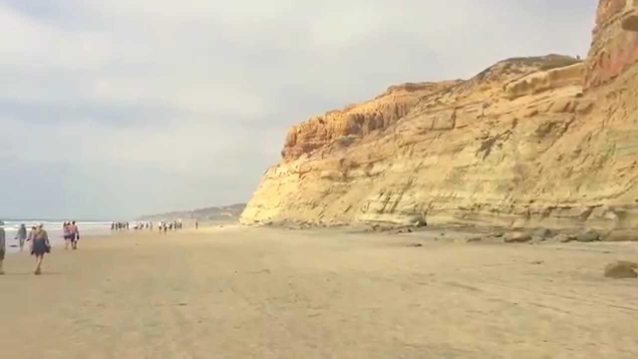 Crashing Waves At Torrey Pines State Beach San Go Ca