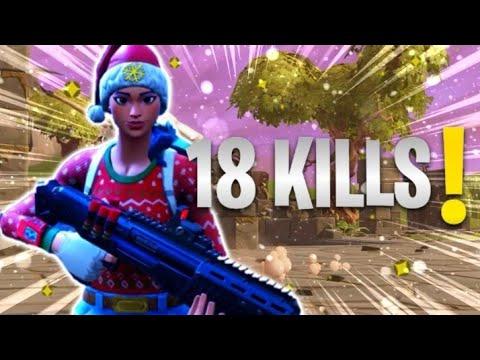 18 KILL - FOTNITE PS4