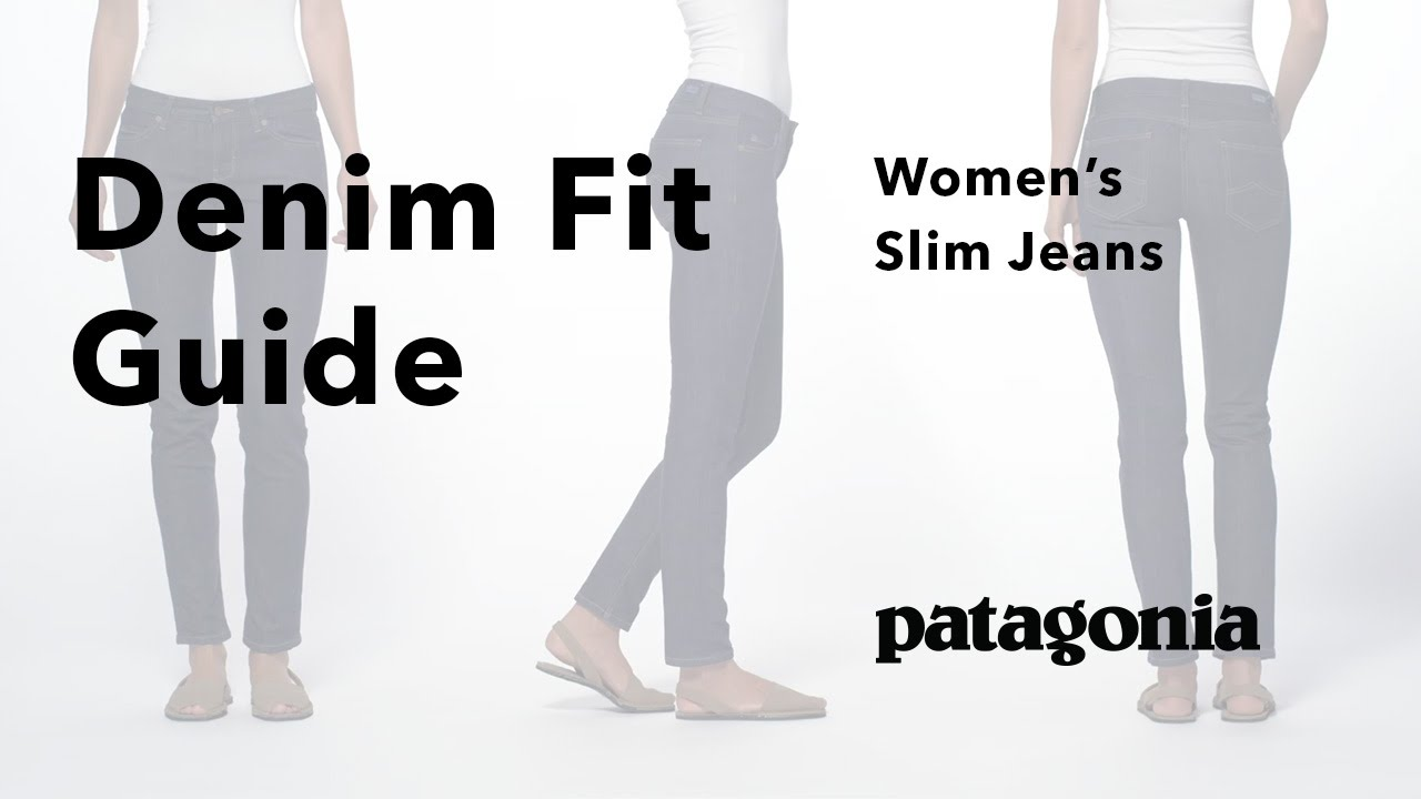 8a36ab3e3da Patagonia Women s Slim Fit Jeans - Fit Guide - YouTube