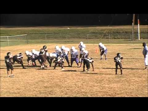 2011 Colts Pee Wees vs Crystal Springs