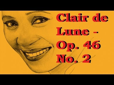 Fauré - Clair de Lune - Op. 46 No. 2 [Barbara Hendricks]