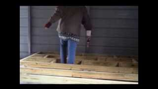 Building A Raised Wood Floor