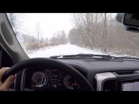 POV DEEP SNOW 2018 Ram 1500 Big Horn Crew Cab 4x4 -