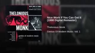 Nice Work If You Can Get It (1998 Digital Remaster)