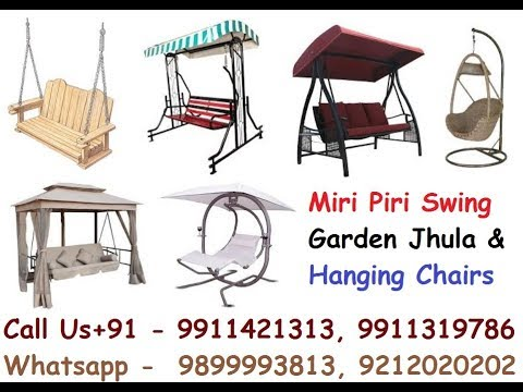 Hanging Chairs in Delhi, Stainless Steel Garden Swing, Garden Patio Swing Manufacturers & Suppliers