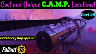 Fallout 76: Cool and Unique C.A.M.P. Locations! Part 49