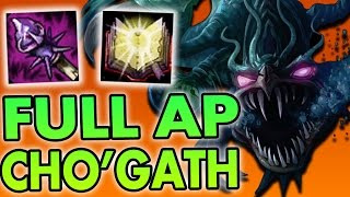 DELICIOUS ENEMY MID LANERS (AP CHO'GATH MID) - League of Legends Commentary