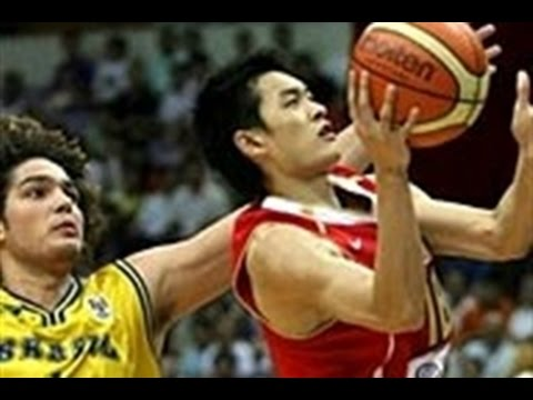 Brazil vs China 2006 FIBA Stanković Continental Champions