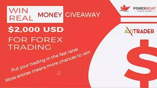 $2,000 Forex Giveaway Bonus from ForexBoat