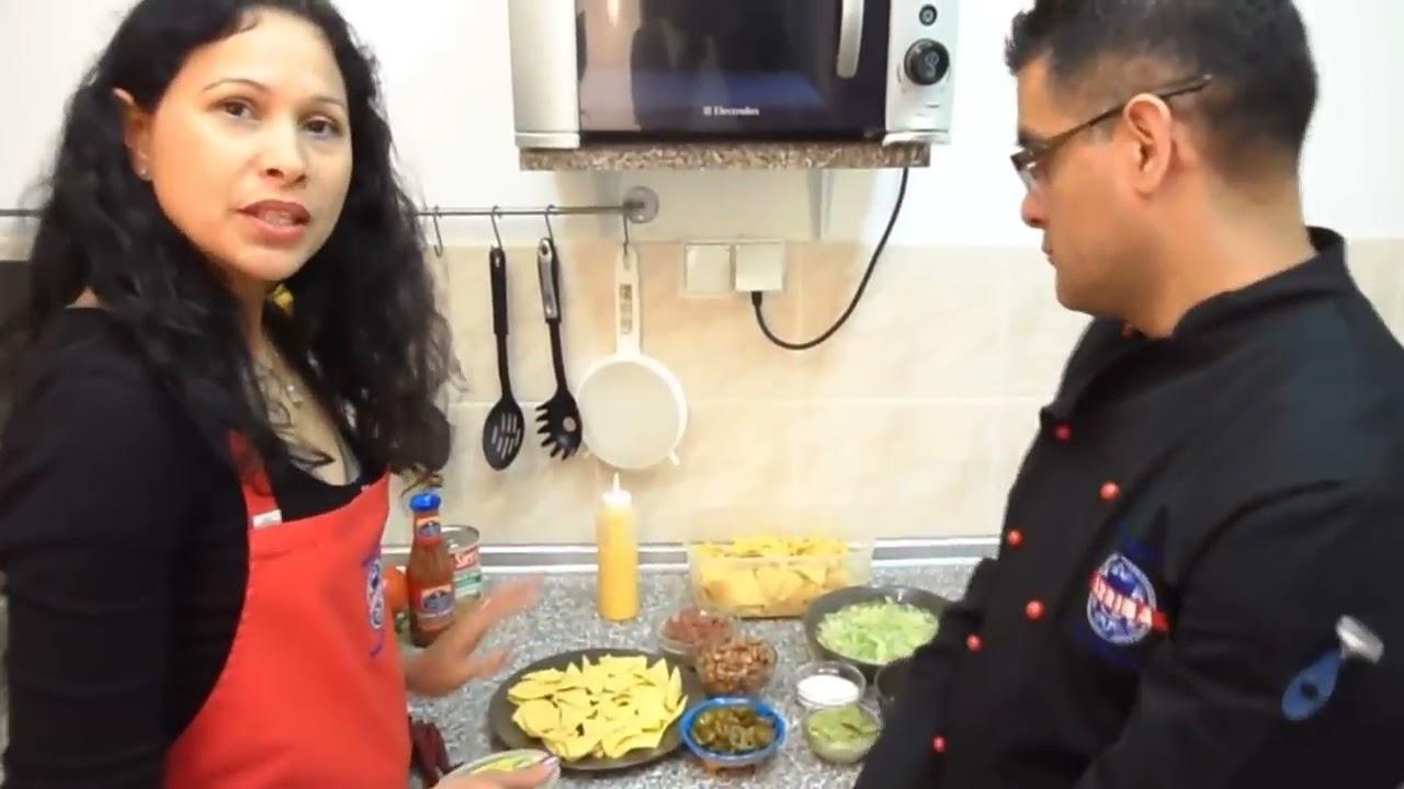 Nachos Po Meksykansku Nachos Mexico Kuchnia Meksykanska