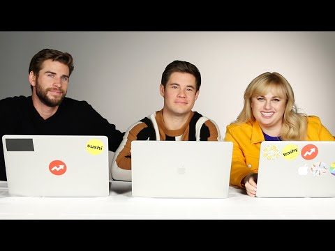Liam Hemsworth, Rebel Wilson, and Adam Devine Take A BuzzFeed Quiz