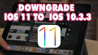 Downgrade iPhone iOS 11 to iOS 10.3.3 with new iTunes, Restore iPhone iOS 11