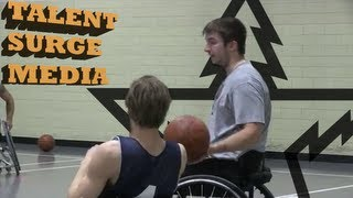 Derrick Bisnett - Wheelchair Basketball Player