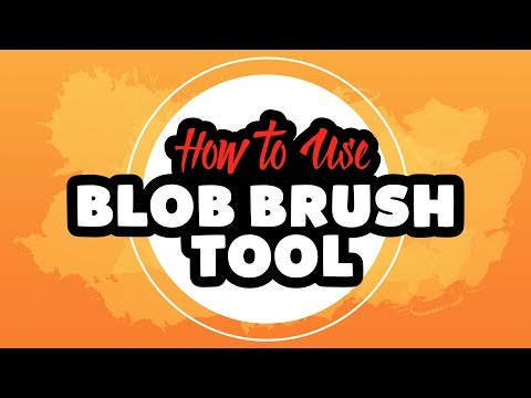 How To Use The Blob Brush Tool In Adobe Illustrator CC