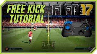 FIFA 17 All Free Kicks Tutorial   Trivela, Knuckleball, Rabona Curve, Driven ! [PC, Xbox One]