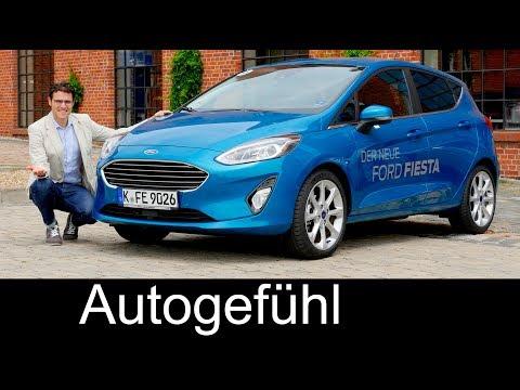 Ford Fiesta FULL REVIEW all-new neu 2018 test Titanium & ST-Line - Autogefühl